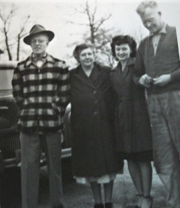 James, Ruby, Constance and Don Carlos Tillotson